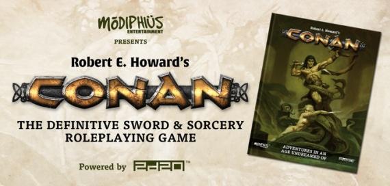 Modiphus Conan cover