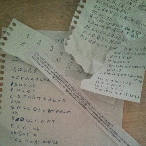 шифры, ключ, расшифровка и странный код...