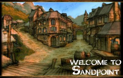 Мирный городок Sandpoint