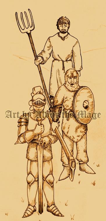 бароны: войско