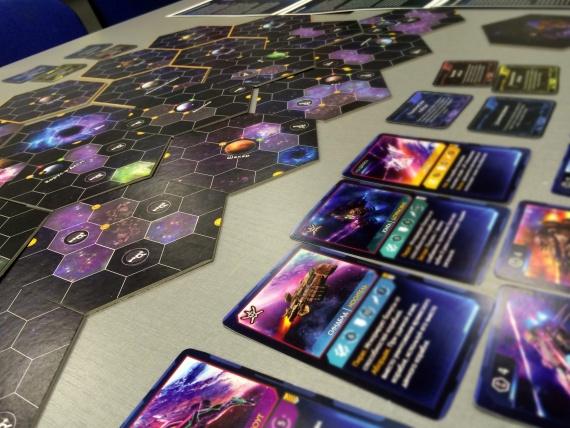 Настольная 4х стратегия Амбиции Космоса