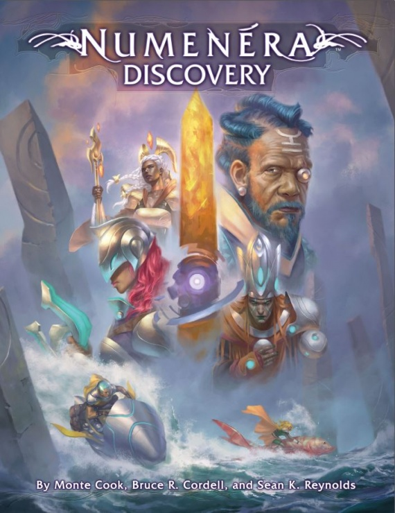 Numenera Discovery Cover
