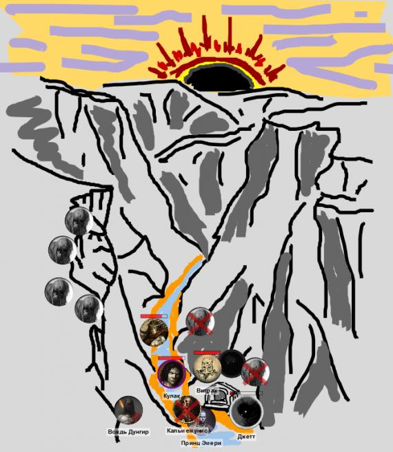 Каньон черносолнца